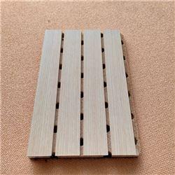 阻燃木质槽孔吸音板厂家