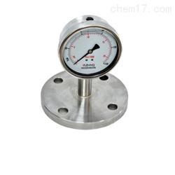 PT124Y-624法兰型卫生隔膜压力表