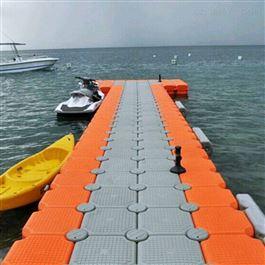 FT50*50*40柏泰水上设备平台码头停靠塑料浮筒