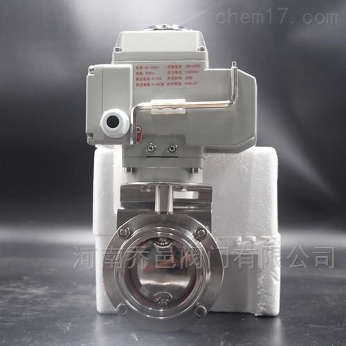 D981X电动卫生级蝶阀
