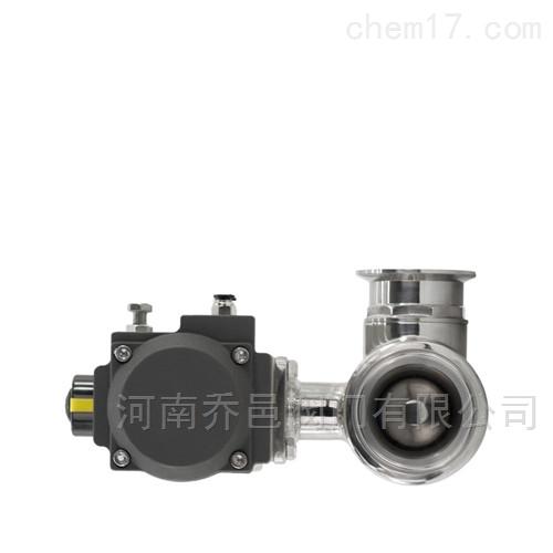 Q685F气动卫生级T型三通球阀 卫生级气动三通球阀
