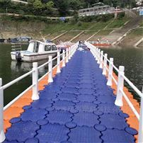 BT001水上旅遊開發棧道平台釣魚靠泊房屋搭建浮筒