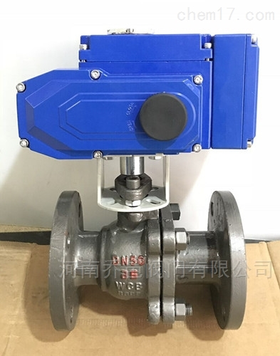 电动带手动调节型球阀 电动调节型铸钢球阀