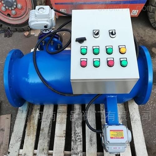 ZPW-L全自动直角式反冲洗过滤器 全自动角通式反冲洗过滤器