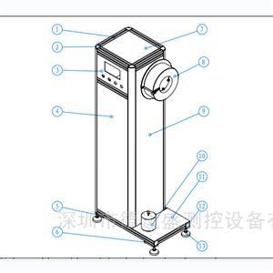 灯串缠绕试验标准灯装置