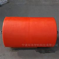 FT400*1000水上垃圾攔截浮排攔汙浮筒