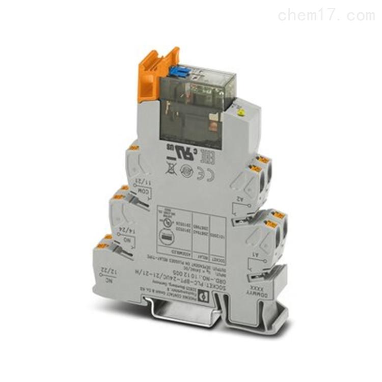 Phoenix继电器模块PLC-RSC- 24DC/21/MS现货