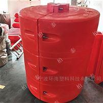 FT550*950河道水草攔截隔離浮筒PE浮筒廠家