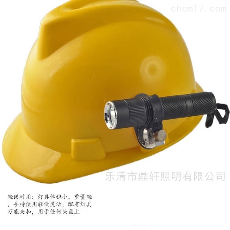 3W固态微型强光防爆电筒电量显示消防员灯具