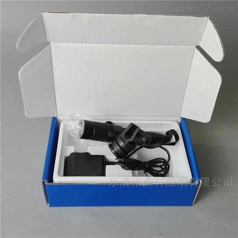 鼎轩厂家LED佩戴式强光防爆电筒3W锂电池