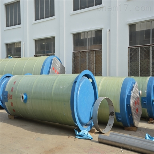一体化预制泵站成品出厂直接吊装