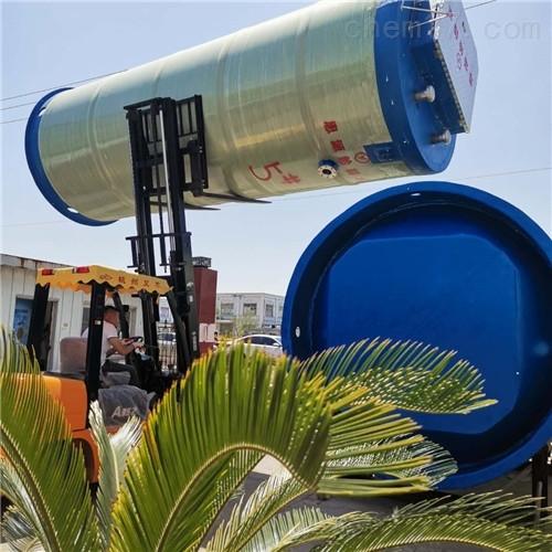 玻璃钢预制式一体化泵站设计改良在哪里