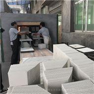 应用在甲醛蒸馏塔陶瓷波纹填料型号