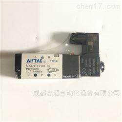 4V110-06亚德客电磁阀