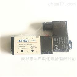 4V210-08亚德客电磁阀AIRTAC