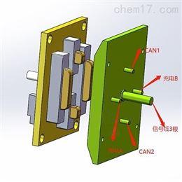 带通讯带激光对射刷板刷块