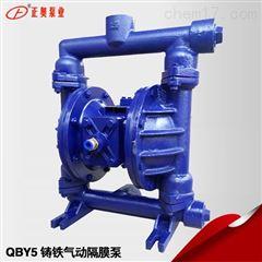 正奥泵业QBY5-25Z型铸铁气动隔膜泵船用泵