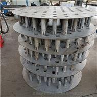 高效型金属盘管式液体分布器的结构
