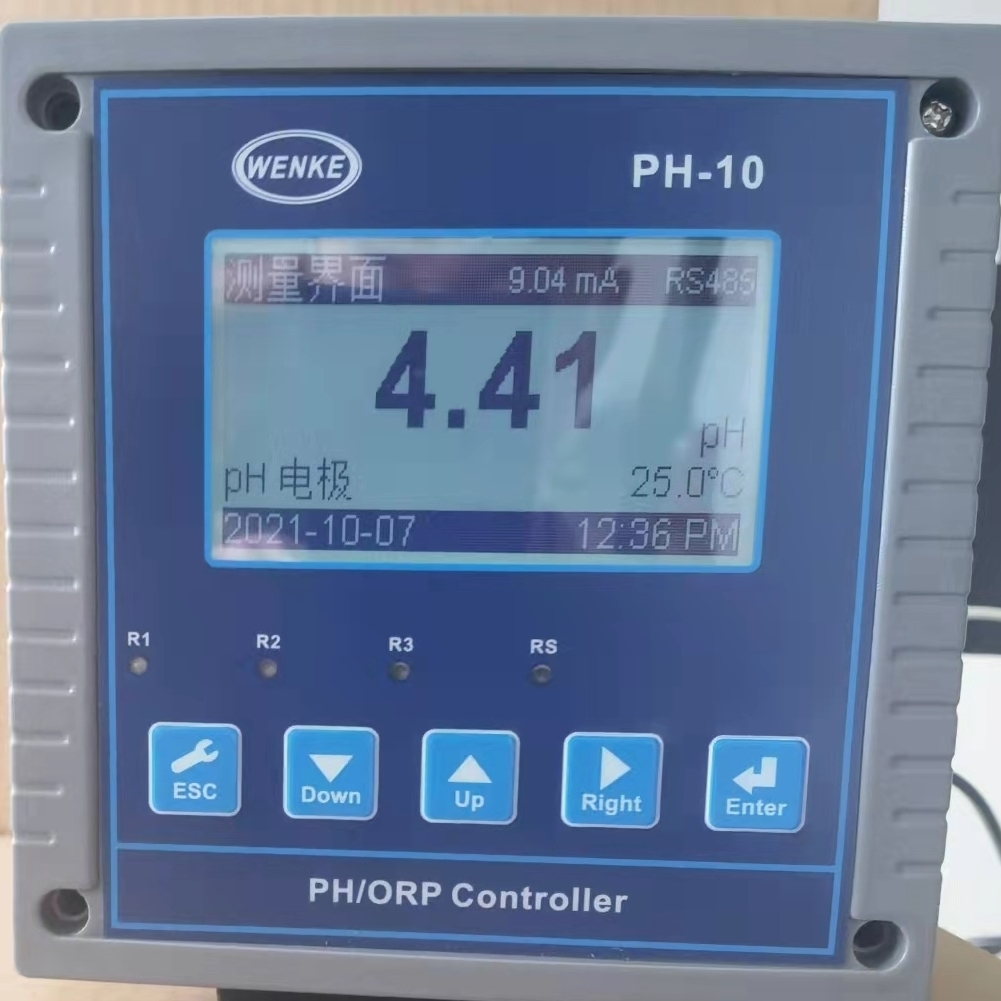 WENKE工业在线ph计酸度计PH/ORP控制器