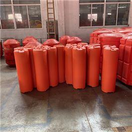 FT300*1000圆柱容器水上柏泰拦污挡渣漂排浮筒