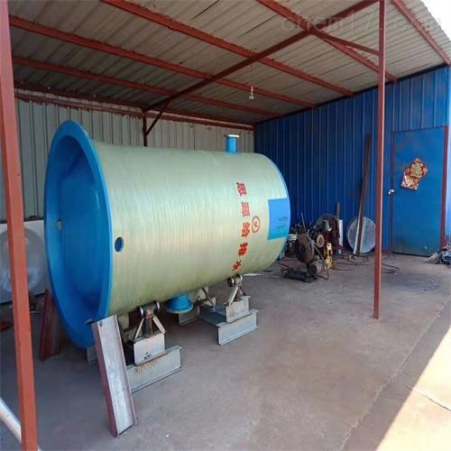 3*8m玻璃钢一体化污水泵站价格多少钱