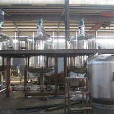 涂料乳胶漆生产设备 不锈钢反应釜