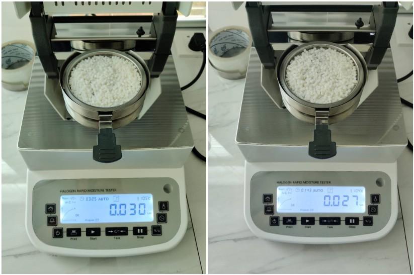 塑料颗粒水分测定-BOS-190A快速水分测定仪