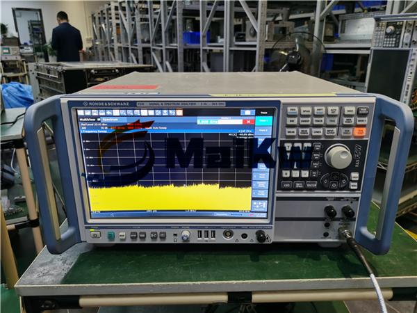 来自上海的FSW 26 维修测试幅度不准