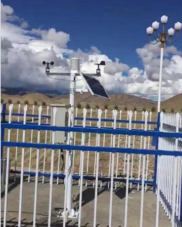 农业气象站成功落户西藏建工公司