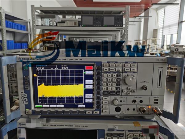 EMI接收機ESU26維修案例之RFC-MWC自檢不過