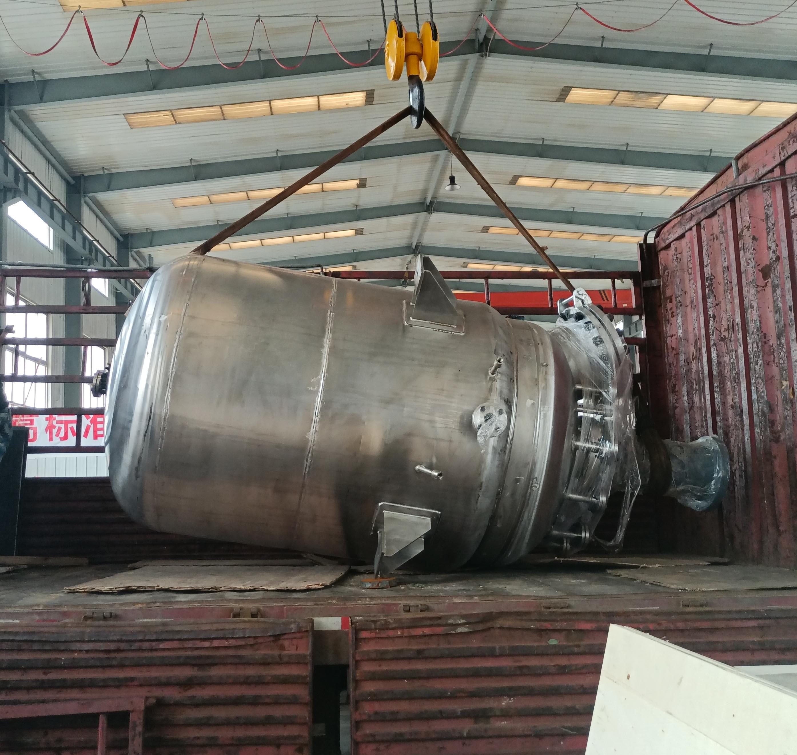 3000L磁力反应釜已完工发往安庆