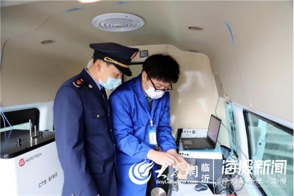 惠民县市场监管局开展成品油质量快检工作