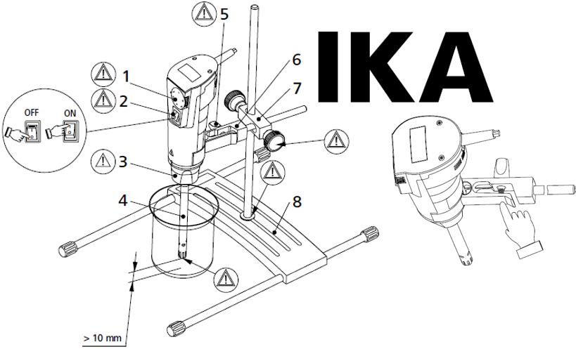 IKA分散机T10