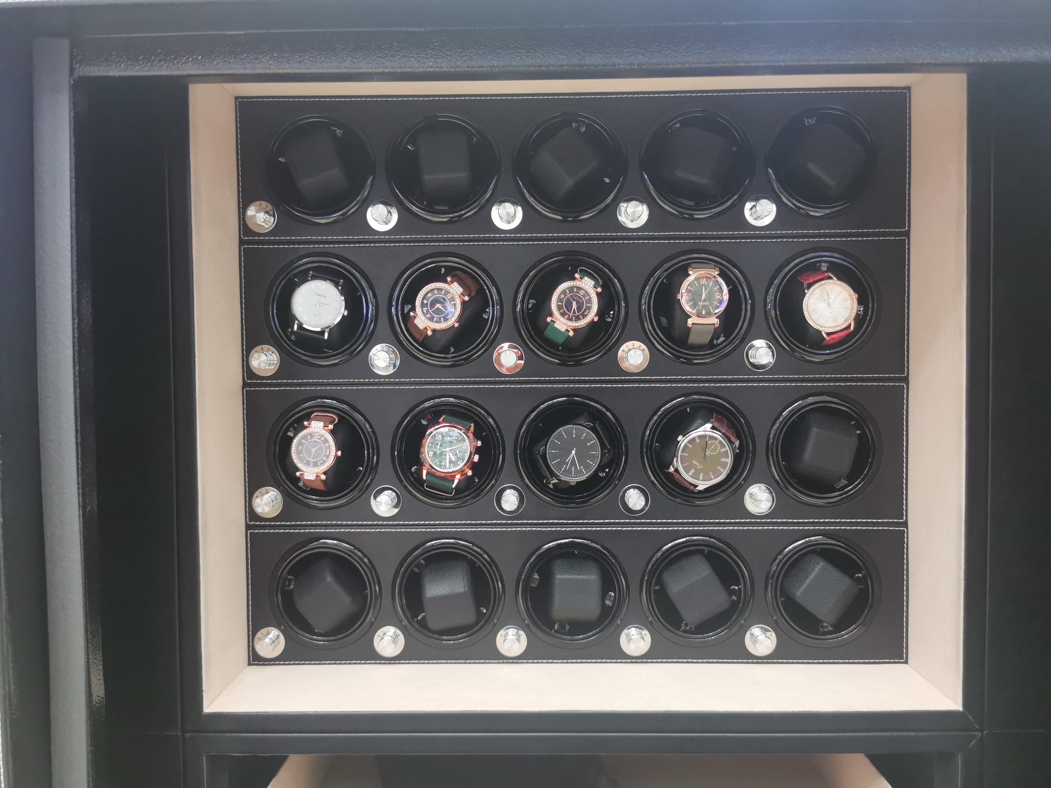 家用手表收藏柜转表器