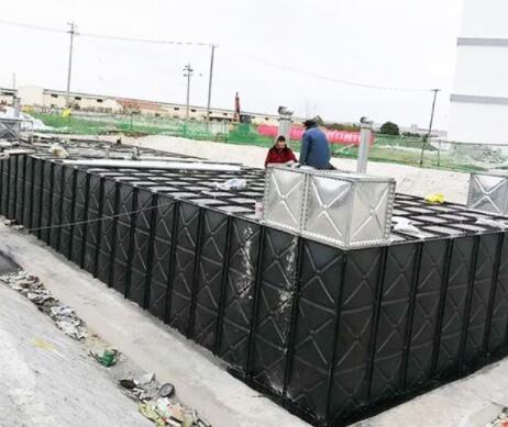 抗浮地埋式消防箱泵一体化
