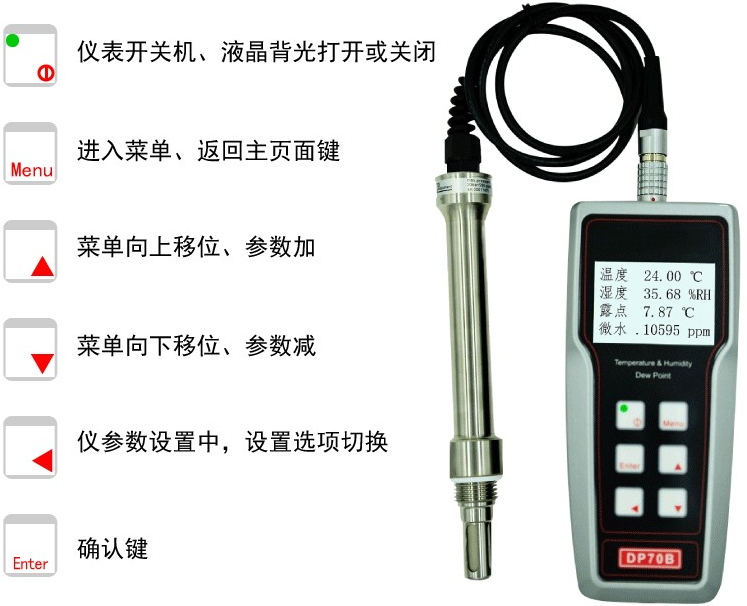 <strong><strong><strong>露点仪DP70B</strong></strong></strong>