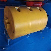 FT600*1000波浪水面水草垃圾攔汙浮筒聚乙烯拦挡浮筒
